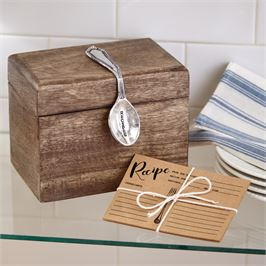Spoon Recipe Box