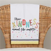 Throw Kindness Like Confetti Tea Towel