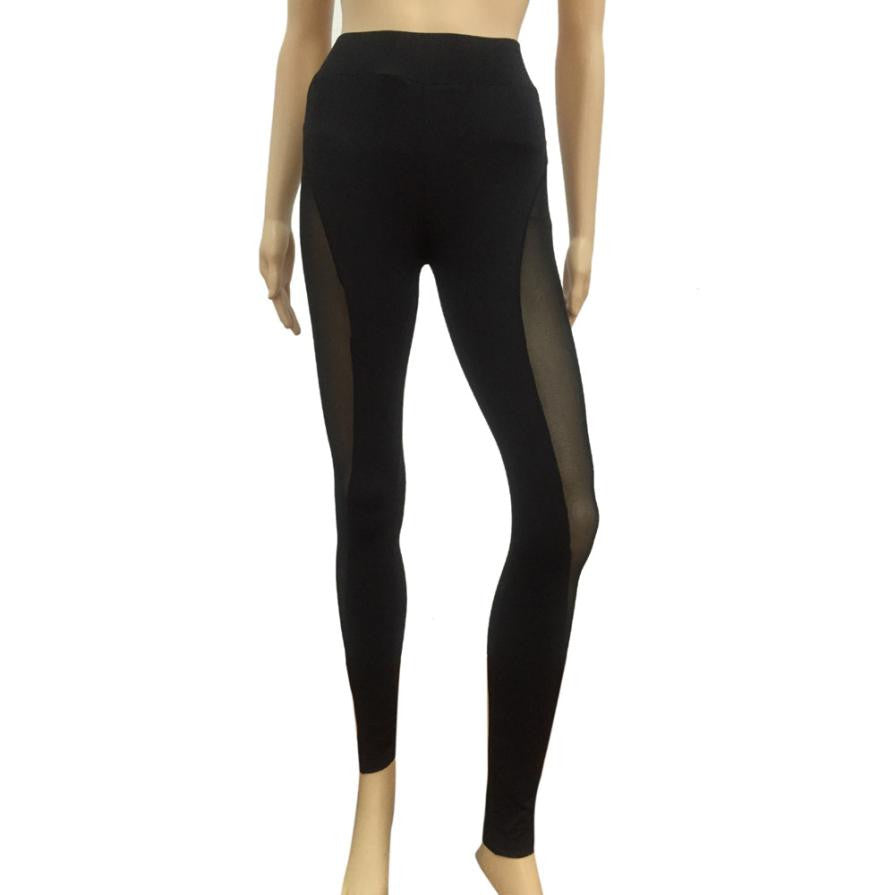 Yoga Sports Tight Mesh Yoga Leggings