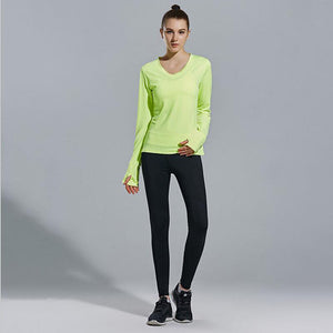 High Quality 3 Pieces Solid Yoga Set Long Sleeves & Bra & Pants