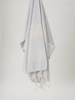 Izla Alanya Hamam Towel Light Grey - Izla