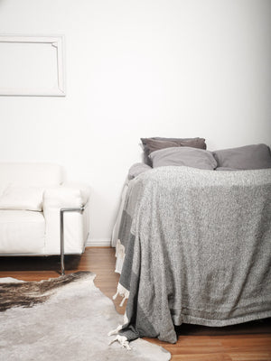 Izla Bodrum Throw Light Grey - Izla