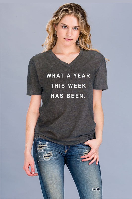 What a Year This Week Has Been - Graphic T-Shirt