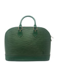 Louis Vuitton Borneo Green Epi Alma PM