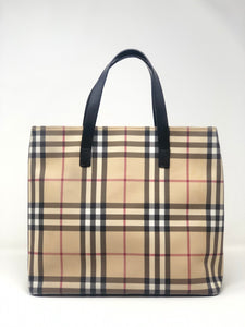 Burberry London Small Check Tote