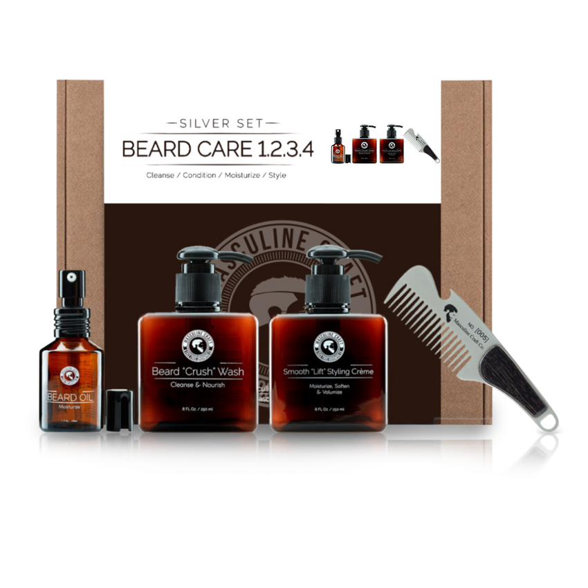 Beard Grooming Essentials Kit - Masculine Craft