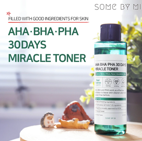 AHA BHA PHA 30 Days Miracle Toner