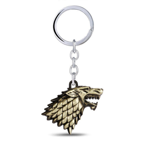 House Stark Key Chain
