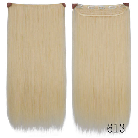5 Clips Long Straight Hair Extensions