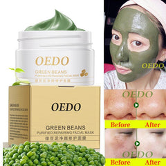 Image of Natural Green Beans Repairing Face Mask