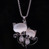 Image of Cat Crystal Necklace