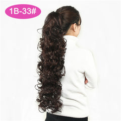 32 inches Long Curly Claw Clip Ponytail Fake Hair Extensions