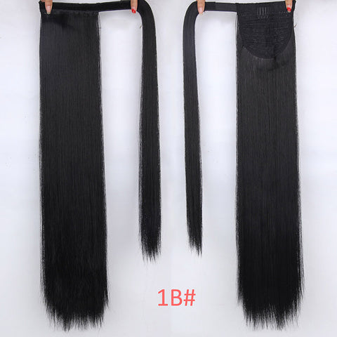 16 Colors 24 Inches Wraparound Synthetic Fake Hair