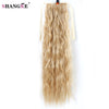 Image of Long Curly Synthetic Heat Resistant Ponytail