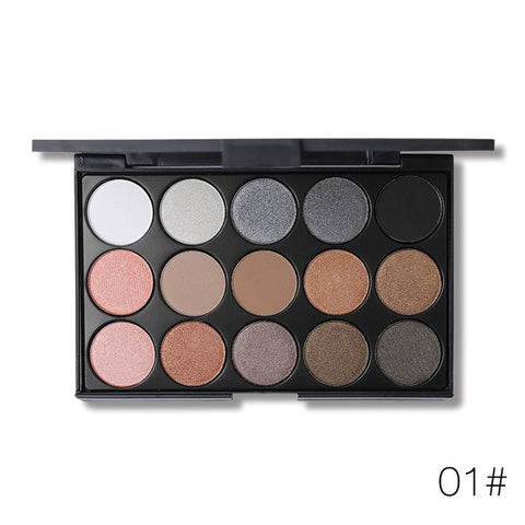 Professional 15 Earth Colors Matte Eyeshadow Palette