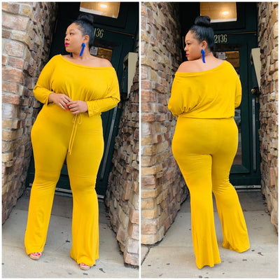Mustard Hope Jumpsuit