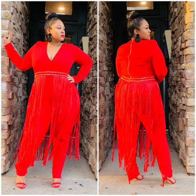 Red Bonita Jumpsuit