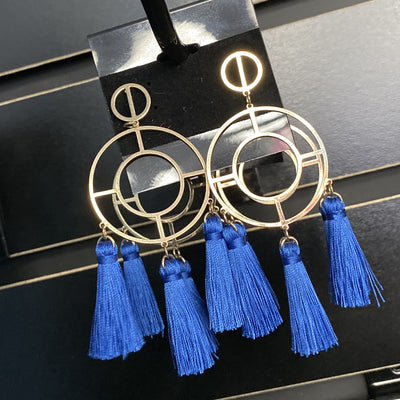 Blue Hanna Earrings