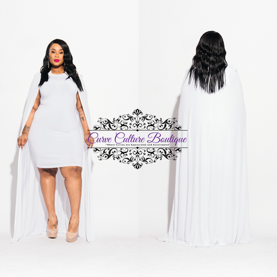 White Aries Dress