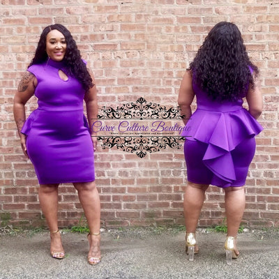 Purple Raquel Dress