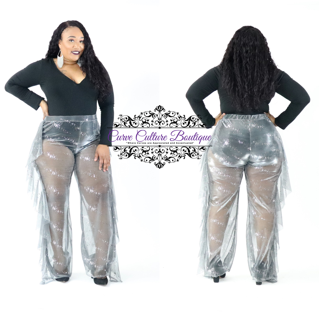 Silver Shelly Pant