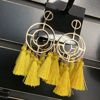 Yellow Hanna Earrings