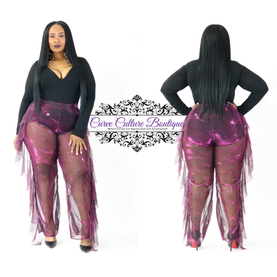 Fuchsia Shelly Pant