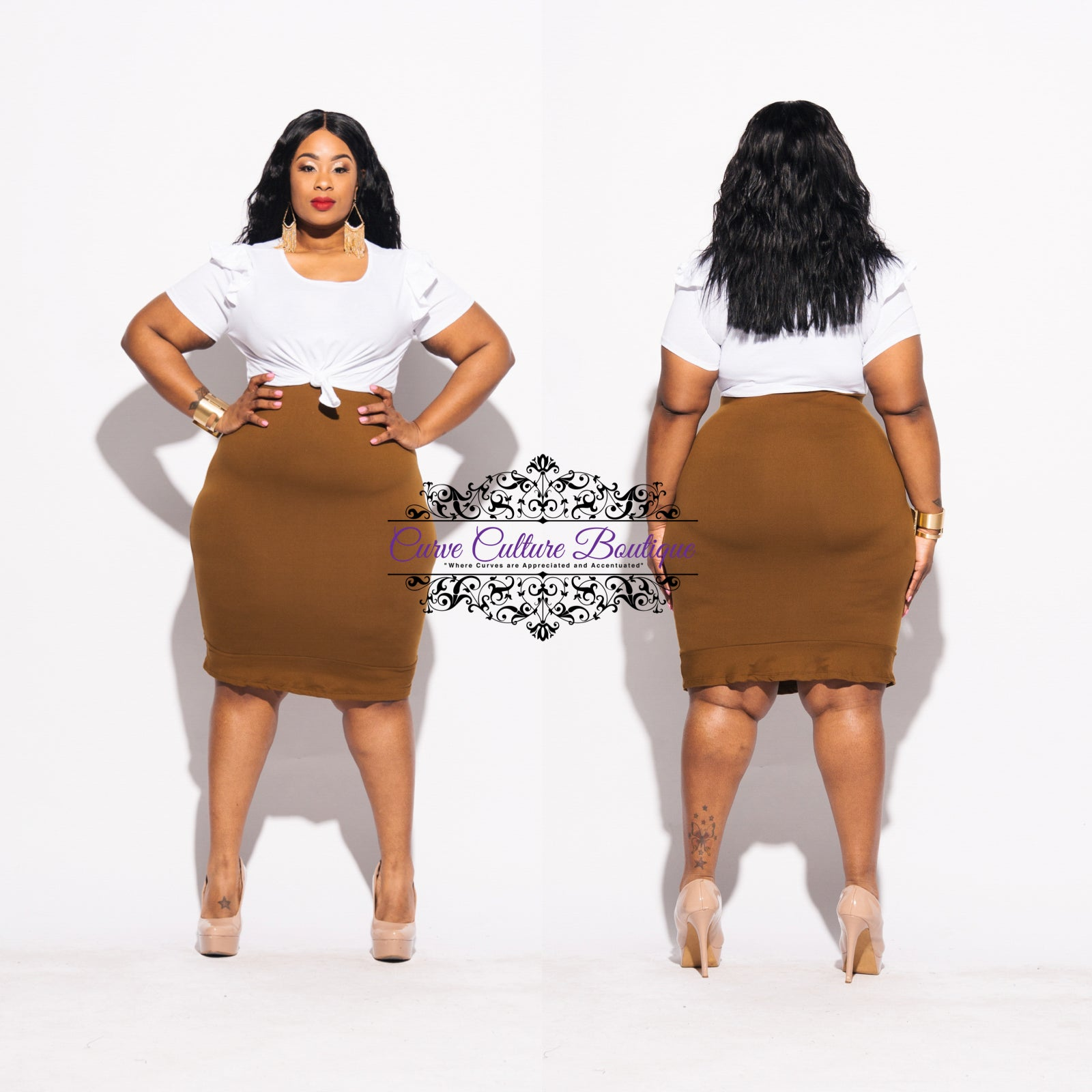 Bronze Halley Skirt