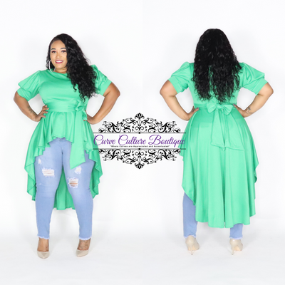 Green Kerri Top
