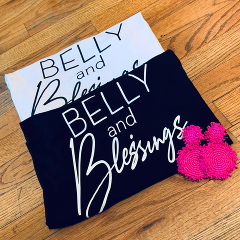 Black Belly Tee