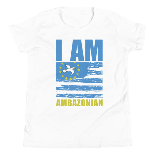 Youth Short Sleeve Ambazonia Flag T-Shirt