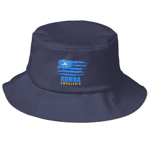 Old School Ambazomian Flag Bucket Hat