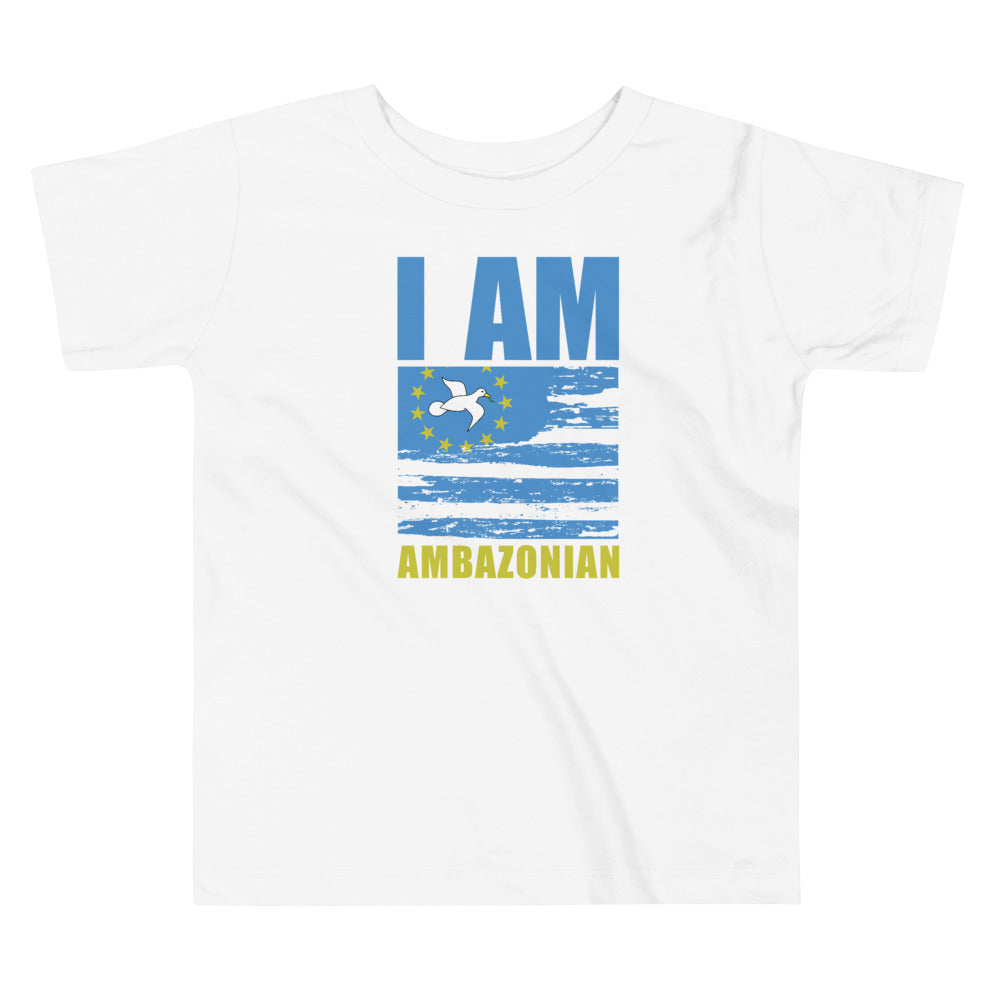 Toddler Short Sleeve Ambazonia Tee