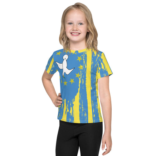 Yellow Kids All Over Print Ambazonian T-Shirt
