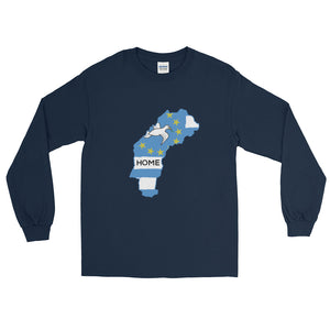 Long Sleeve Ambazonian Map T-Shirt