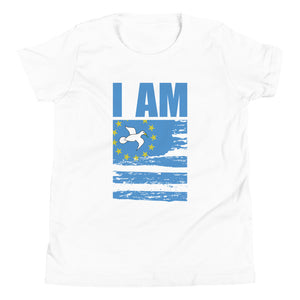 Youth Short Sleeve Ambazonian Flag T-Shirt