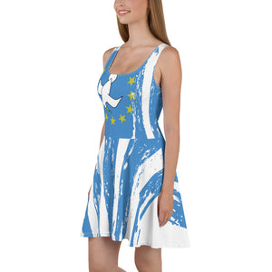 Ambazonian Flag Skater Dress