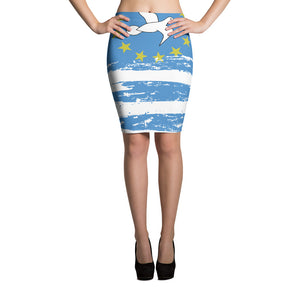 Ambazonia Pencil Skirt