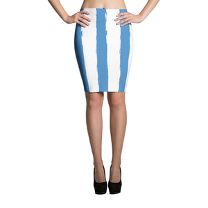 Ambazonian Flag Pencil Skirt