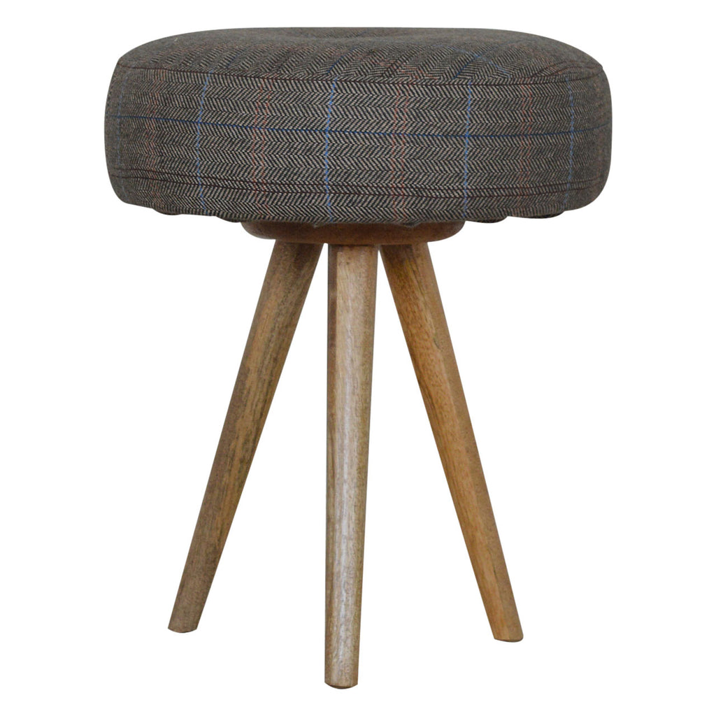 Tripod Stool With Seat Pad 45x35x35cm