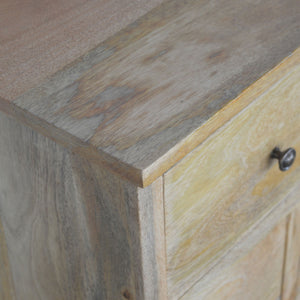 Alexandra Rustic Oak 8 Drawer Chest of Drawers