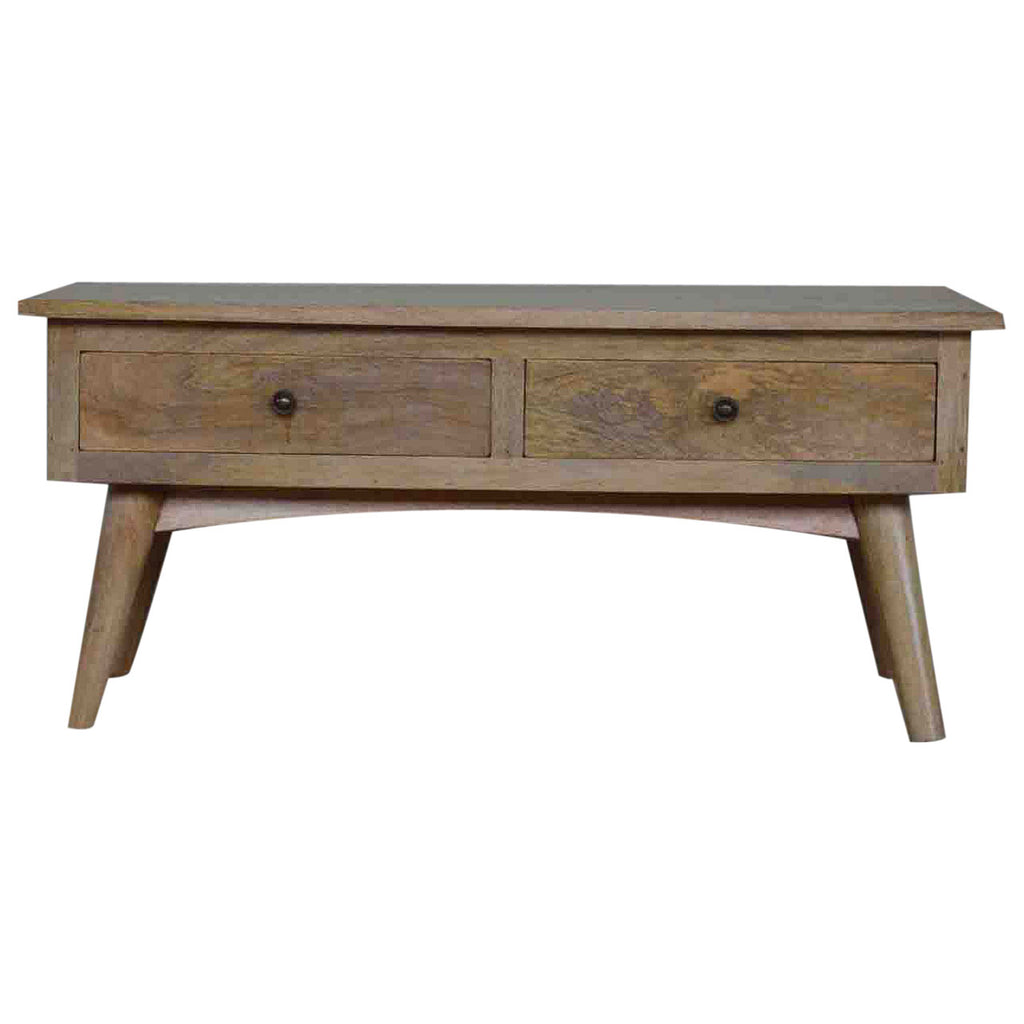 Alexandra Rustic Oak Coffee Table