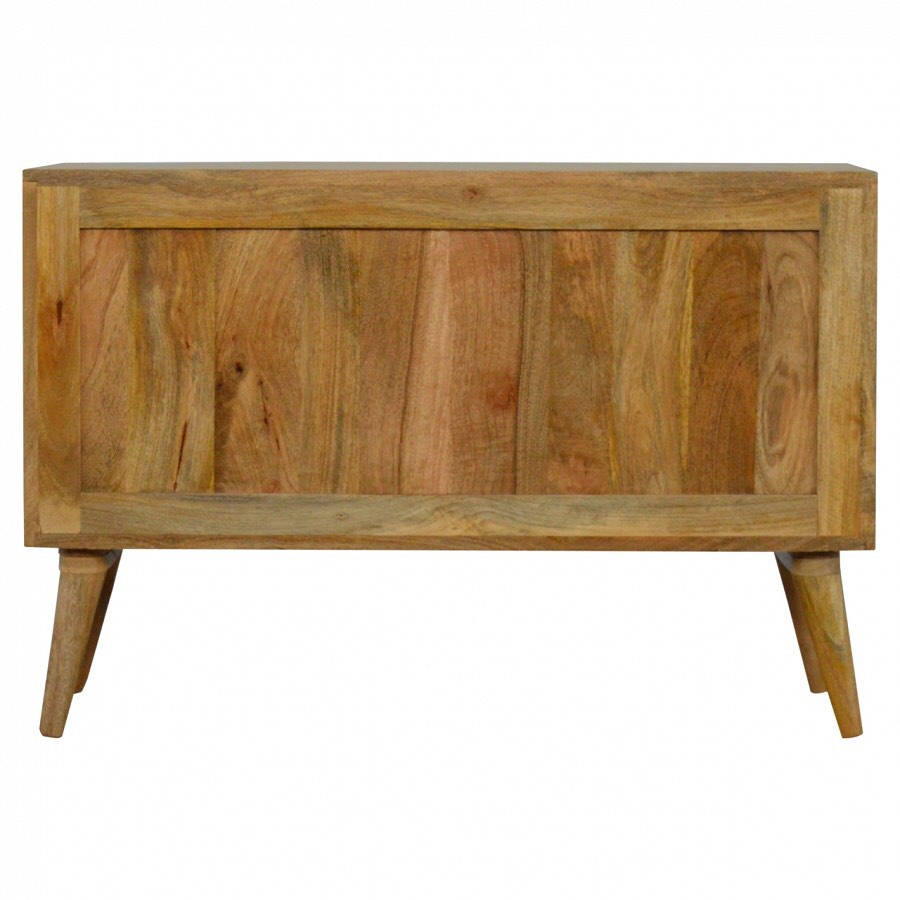 Rustic Shabby Chic Modern and Contemporary Oak Style TV Stand/Media Unit - 45x90x35cm