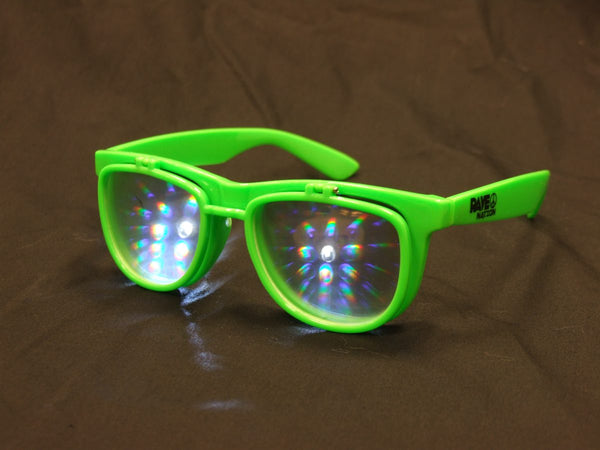 Rainbow Diffraction Vision Sunglasses