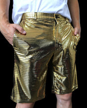 Light up Electro Rave Shorts for Men