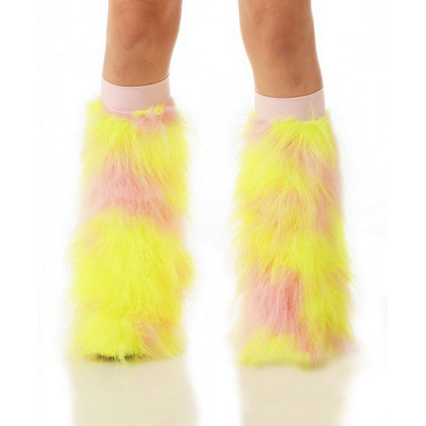 Baby Pink and Yellow Fluffies