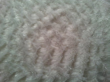 White Sparkle Faux Fur