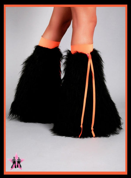 Ribbon Black & Orange Fluffies