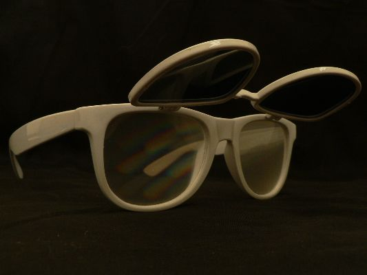 Rainbow Vision Diffraction Sunglasses