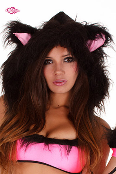 Whiskers Kitten Rave Outfit Hood